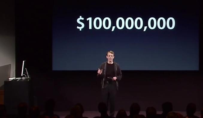 one hundred million